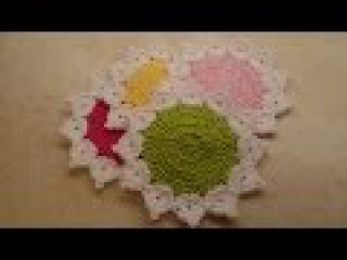 CROCHET How To Crochet The Queens Crown Coaster Set Easy TUTORIAL 327