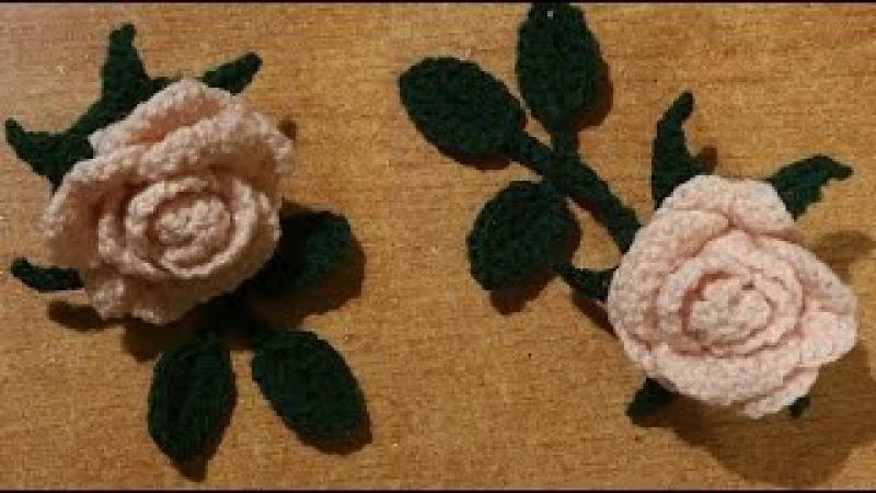 Rosa alluncinetto a dieci petali - tutorial passo a passo