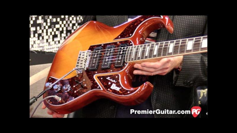 NAMM '17 - Burns Guitars Bison Ultrasound Demo
