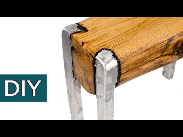 Сплав ДЕРЕВА и АЛЮМИНИЯ Секретная технология Как сделать мебель своими руками стройхак