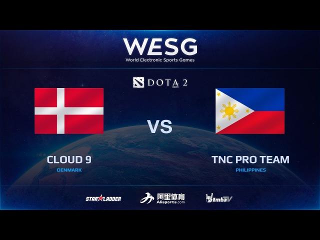 [RU] Cloud 9 vs TNC Pro Team, Game 1, Final, 2016 WESG Dota 2 Grand Final presented by Alipay