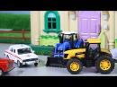 Мультик про машинки. Трактор, больной и скорая помощь. МанкиМульт