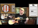 Paint It Black - The Rolling Stones - Acoustic Guitar Lesson (easy-ish)