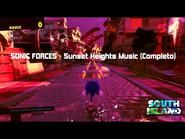 SONIC FORCES OST - Sunset Heights Music (Completo)