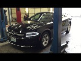 New Dodge Charger with Damaged Frame