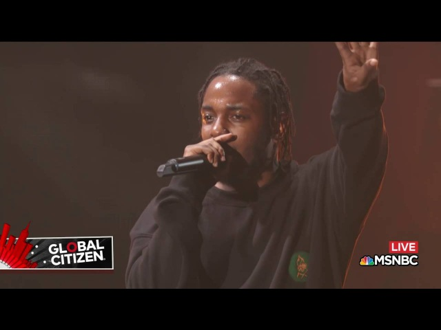 Kendrick Lamar M.A.A.D City | Live at Global Citizen Festival 2016
