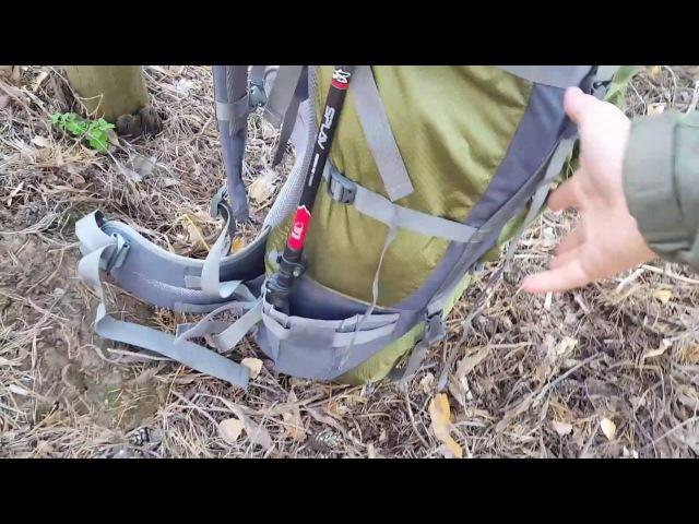 Обзор туристического рюкзака Splav Frontier 85