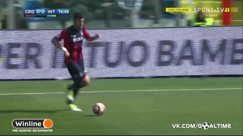 ГолТВ рф Кротоне Интер 2 1 Обзор матча Серия А