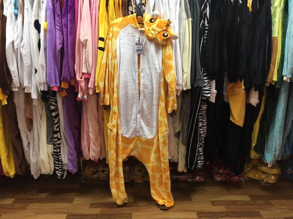 фото пижамы кигуруми жираф в полный рост