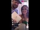 Ксения Бородина с Дашей Пынзарь на открытии салона, Instagram 18.05.2017.