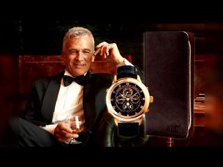 Мужское портмоне + элитные часы в ПОДАРОК