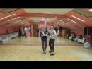 Vitaliy Gudimenko & Lana-love, bachata урок в школе танцев Breeze Dance