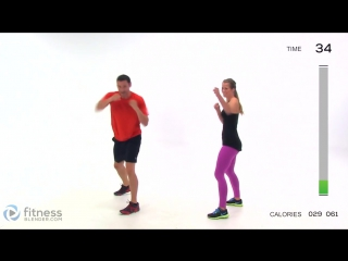 Fitness Blender - 5 Day Workout Challenge to Burn Fat & Build Lean Muscle - Day 4