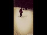лыжню уступите парню лыжню😂