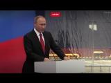 Владимир Путин в Петербурге принял участие в церемонии имянаречения танкера