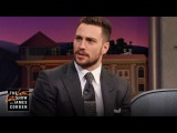 Aaron Taylor-Johnson's, Kate Hudson  on The Late Late Show with James Corden