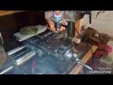 Сборка токарного станка по металлу - Малая продольная подача