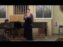 Николаева Ксения Ponchielli романс Слепой Voce di donna - La Gioconda.