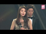 161116 아시아 아티스트 어워즈 수지 & 박보검 Suzy & Park Bogum win Best Star Award @ 2016 Asia Artist Awards