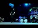 Viktor (EST) vs Girl Slam (EST) | Krump Semi Final | JJ-Street Baltic Session 2016