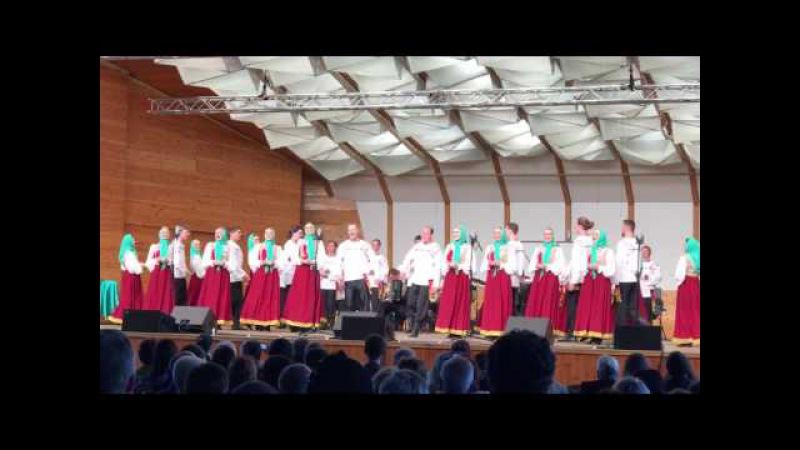 ГАРН хор им. М.Е.Пятницкого в Dzintaru koncertzāle. Как по горкам по горам