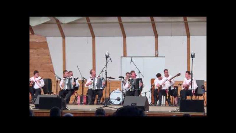 ГАРН хор им.М.Е.Пятницкого в Dzintaru koncertzāle. Оркестр.