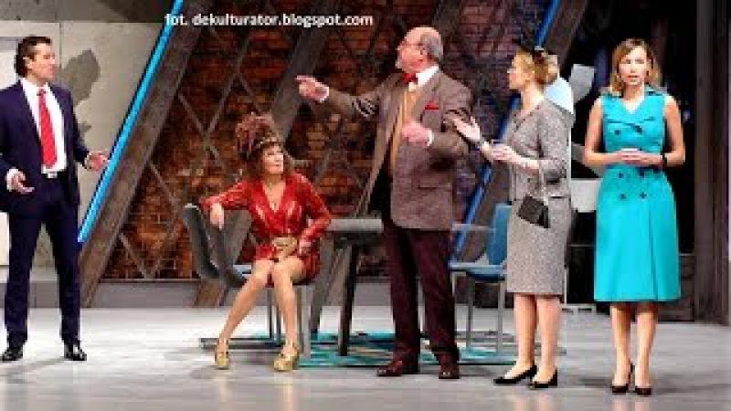 Teatr Komedia - Żona potrzebna od zaraz... - fragmenty przedstawienia i rozmowa z Aktorami
