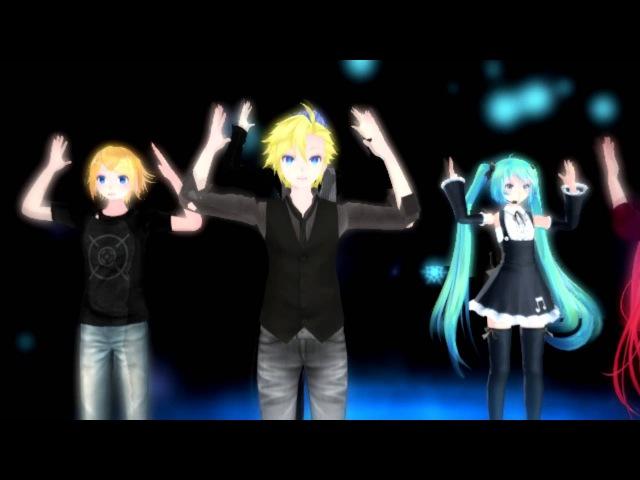 【MMD】Remote control [IA, Miku, Lenka, Len, Kaito, Rinto]