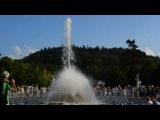 2016.09. Чехия. Марианске Лазне. Поющий фонтан.Песня в исполнении Селин Дион.