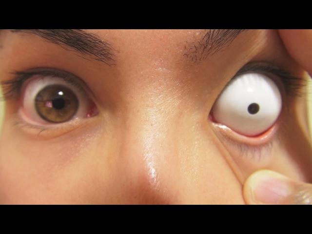 Цветные контактные линзы. Косплей. Склера. Магазин Linseland.инз. 13 strangest contact lenses