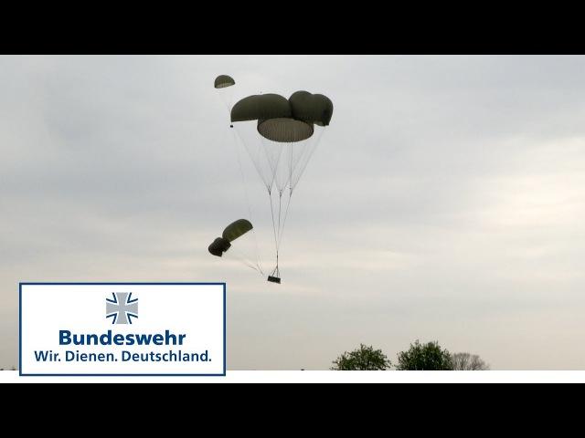 Fallschirmjäger benötigen Munition und Nahrung Red Griffin Colibri 50 Teil 4 - Bundeswehr