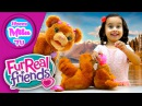 HappyMilaTV #307 | Woodland Sparkle Peanut Butter My Baby Bear Cub Furreal Friends Funny Toy Review