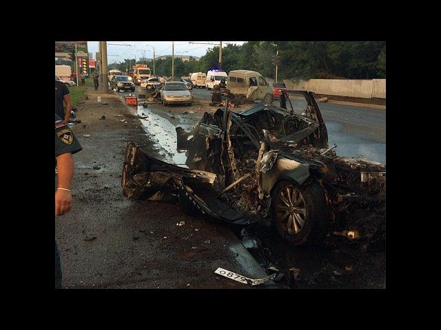Стали известны подробности аварии с пятью дорожниками в Краснодаре
