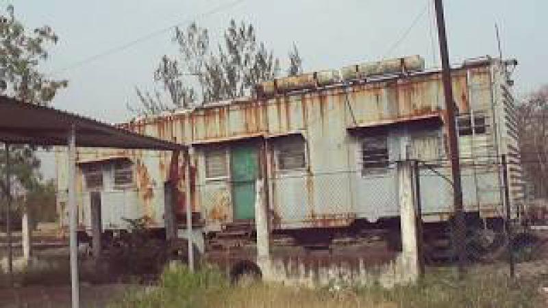 Vagon Casa de Ferrocarriles Matias Romero Oaxaca