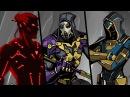 ТИТАН я иду игра Shadow Fight 2 Бой с тенью 53 Саван Изумруд Берилл Падальщик Мефисто Омут КИД