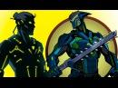 ТИТАН я иду игра как мультик Shadow Fight 2 Бой с тенью 52 Изумруд Топаз Гранат Берил Капкан КИД