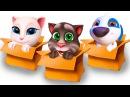 МОЙ ГОВОРЯЩИЙ ТОМ и Друзья Говорящая Анжела с Хэнком - Развлекательное видео для детей пурумчата