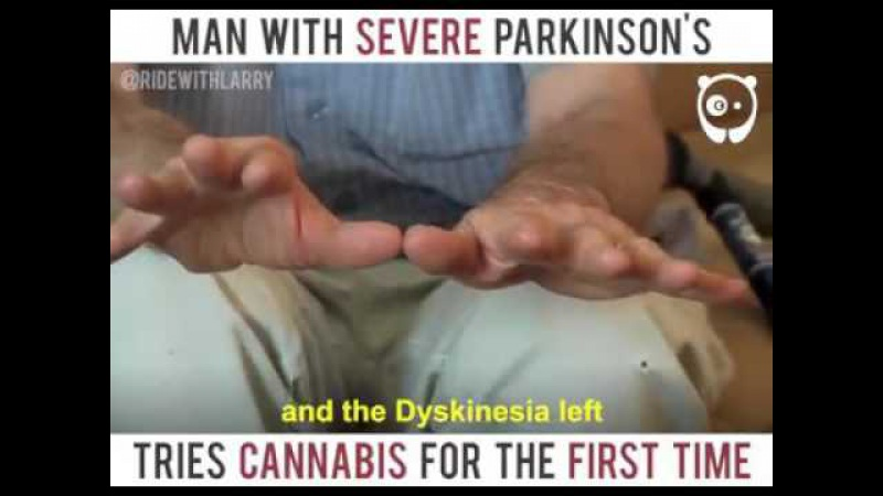 Man with severe Parkinson's tries cannabis for the first time