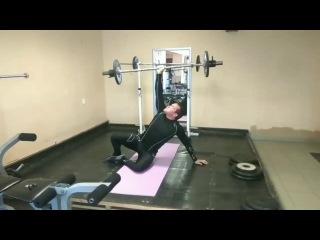 Турецкий Подьем Штанги 40кг/The Turkish Wake Up Rod 40kg.