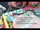DT Scrapbumazhka 2017 МК инста миник Echo park party time