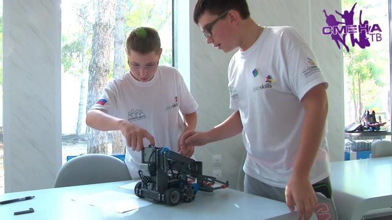 Самые современные технологии в «Смене». Партнеры «Парка будущего» оборудовали павильон «Мобильная робототехника»