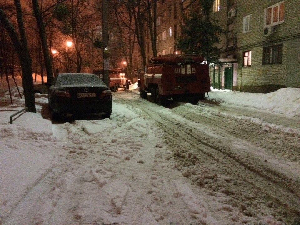Два соседа напугали жителей Салтовки