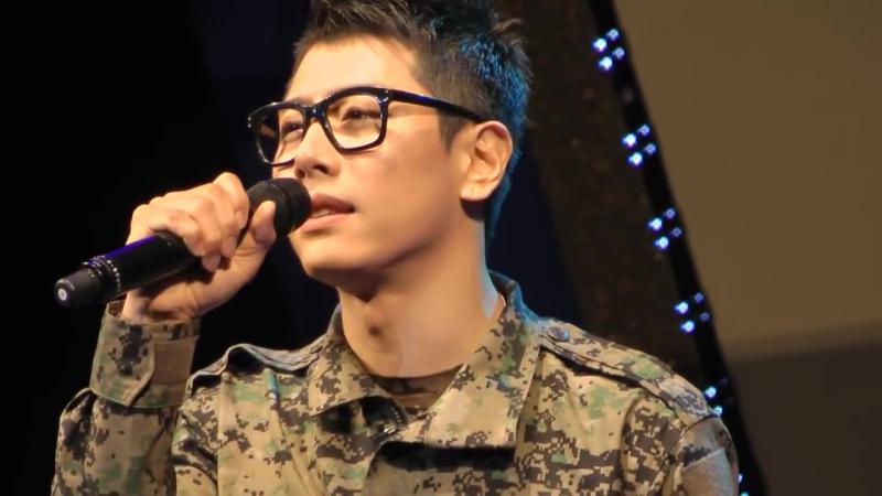 120517 박효신 Park Hyo Shin 위문열차 좋은사람 해군사관학교