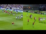Последний гол Бекхэма за «МЮ» vs. гол Рэшфорда в ворота «Сельты»