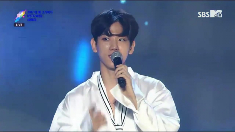 [VIDEO] 170920 EXO @ Soribada Awards | DAESANG Award 2/3