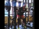 Никки Ганз - присед 170 кг на 3