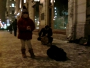 Уличные музыканты Питера  (невский проспект)