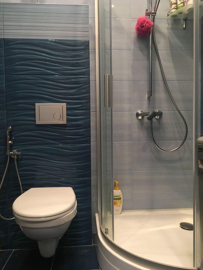 душ в массажном кабинете, душевая кабина в салоне красоты, массажный салон Москва,