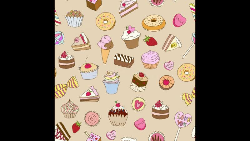 Картинки пончиков и тортиков
