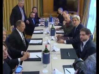 Встреча С.В.Лаврова и Дж.Керри, Рим, 2 декабря 2016г